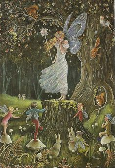 "Jean and Ron Henry, ""Queen of the Fairies"""