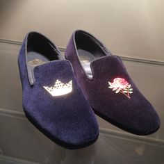 Slippers by #Church's #shoes #men #velvet #FolliFollie #FW14collection