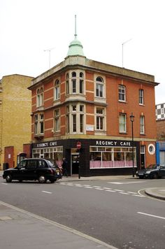 London Must-do (Regency Cafe) -From  Beyond the Blue Umbrella