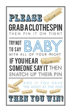 clothespin game printable pdf for baby boy by krysteenamariedesign