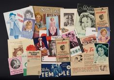 Love, Shirley Temple, Take Two: From Schoolgirl to Storybook: 255 Assortment of Paper Ephemera Related To Foreign Editions of Shirley Temple Films, 1930s