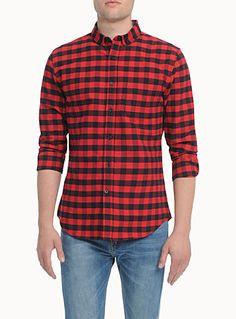Mens Check Shirts: Shop for a Casual Checked Shirt for Men | Simons