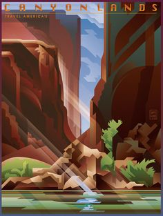 CANYONLANDS on Behance