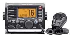 ICOM IC-M504A 61 Icom M504 Fixed Mount VHF Radio - Black by Icom. $346.72. The IC-M504 is a compact, rugged VHF radio built for the harsh marine environment. Not only is the unit waterproof, it is submersible for up to 30 minutes at a depth of 1.5 meters. It has a 168-character, dot matrix display that allows you to easily view a variety of information, such as GPS data, DSC emergency data, etc. The large buttons and knobs provide user friendly operation, and the unit...