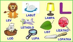 ABECEDA PÍSMENO L Kids Learning Activities, Montessori, Little Ones, Alphabet, Kindergarten, Education, Reading, Logos, Languages
