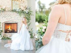 Dusty Blue Chic and Laidback Wedding Photo