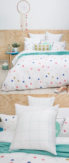 Confetti By Bambury Cotton Collective  C B Kids Bed Linen