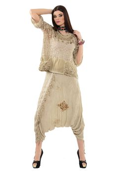 Otantik Feysa Şalvar Modelleri - Bayan Giyim