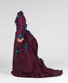 Grace King, ca. 1870-1874, via The Costume Institute of The Metropolitan Museum of Art