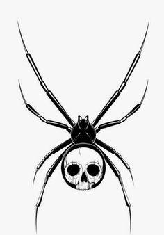 Small Black Spider Tattoo On Hand photo - 1 Spider Art, Spider Tattoo, I Tattoo, Skull Tattoo Design, Tattoo Designs, Tattoo Ideas, Small Black Spider, Hand Tattoos, Sleeve Tattoos