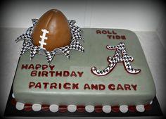 Alabama Football Cake  on Cake Central                              …