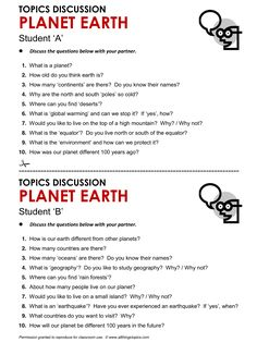 Planet Earth, English, Learning English, Vocabulary, ESL, English Phrases, http://www.allthingstopics.com/planet-earth.html