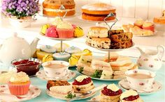 """The Foreign Office's website tells how guests """"will have the opportunity to taste traditional English tea and cakes""""."""