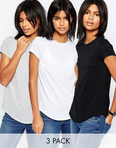 Image 1 of ASOS The Ultimate Crew Neck 3 Pack SAVE 15%