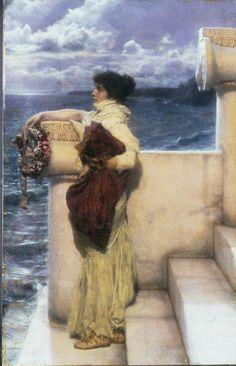 Sir Lawrence Alma-Tadema - Hero