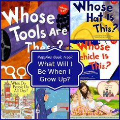 August Poppins Book Nook: What Will I Be When I Grow Up?