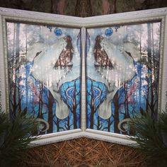 #Волк акварелью для @flamel2016 на #деньрождения)) #акварель #рисунок #космос #печаль #подарок #лес #деревья #природа #художник #watercolor #love #sadness #crying #wolf #painting #nature #forest #tree #space #present #art #beautiful #yanasworkshop