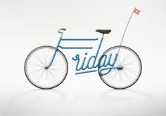 Graphic Design..T.G.I.F – Write a Bike by Juri Zaech