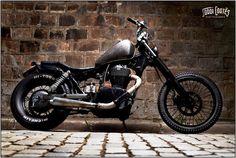 Suzuki Savage bobber motorcycle