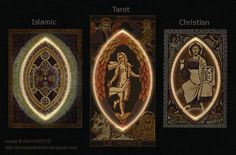 Mandorla is found throughout all the occult symbols: false christianity, Tarot, Islam, and more.