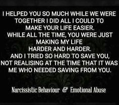 Resource For Victims of Narcissistic Abuse - Narcissist Abuse Support is love You Are Not Alone - Educate Yourself - Find Support - Get Healed - Find Peace Again - Narcissist Abu Narcissist Quotes, Abuse Quotes, Wisdom Quotes, Words Quotes, Quotes About Abusive Relationships, Sayings, Quotes About Abuse, Narcissist And Empath, Victim Quotes