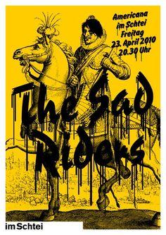 GigPosters.com - Sad Riders, The