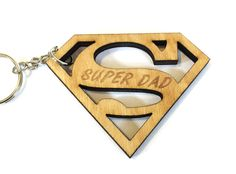 A personal favorite from my Etsy shop https://www.etsy.com/listing/529908961/super-dad-keychain-fathers-day-keychain