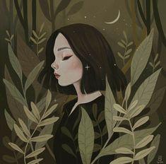 what a beautiful illustration// Illustration Inspiration, Art Et Illustration, Art Anime Fille, Anime Art Girl, Art Inspo, Art Du Croquis, Art Mignon, Art Graphique, Art Design