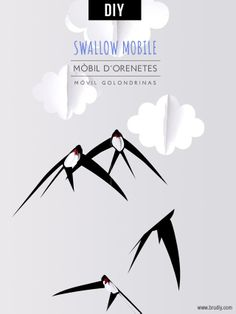 Free tutorial for paper swallows mobile