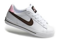 Nike 902 Blazer Low Leather Dames Sneakers Witte Koffie Roze Zwart,HOT SALE!