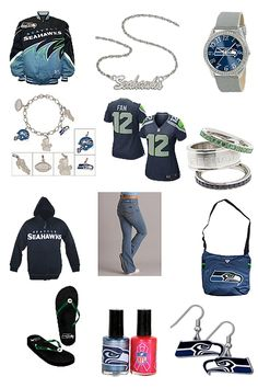 Seattle Seahawks Jeans Outfit