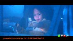 """GREENPEACE: Sfida nell'Artico per """"La piccola esploratrice""""  www.HTO.tv"""