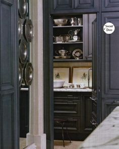 windsor smith kitchen | La Dolce Vita: Going to the Dark Side