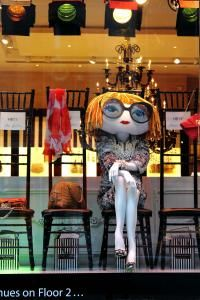 <3 Anna Wintour doll in Henri Bendel's window for Spring 2012 Fashion Week