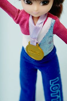 858426387629d4 Raising the Bar gymnastics outfit for the Lottie doll - http   www.