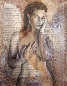 carrie vielle   Carrie Vielle   Canadian Mixed media painter