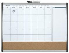 Quartet - Organizador mensual magnético (585 x 430 mm)