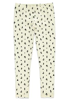 Ordered for A should arrive by Dec 16th Girls Triangle Print Leggings (Kids) | Forever 21 girls - 2000165295