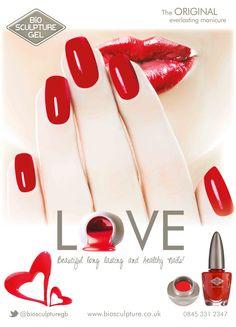 LOVE Beautiful long lasting and healthy nails! Gel Manicure, Mani Pedi, Gel Nail Polish, Bio Sculpture Gel Nails, Healthy Nails, Love Nails, Nail Tech, Natural Nails, Evo