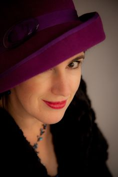 Mad Hattie peek-a-boo cloche photographed by Sarah at Pictorial Photography, Berwick
