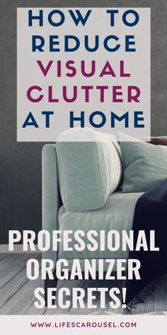 Simple Ways to Reduce Visual Clutter. {Decluttering Tips} Make any ro. Simple Ways to Reduce Visual Clutter. {Decluttering Tips} Make any ro. Deep Cleaning Tips, House Cleaning Tips, Spring Cleaning, Cleaning Hacks, Diy Hacks, Cleaning Schedules, Apartment Cleaning, Cleaning Solutions, Secret Organizations
