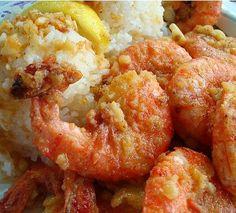 KAUKAU TIME!: Hawaiian Shrimp Truck Scampi