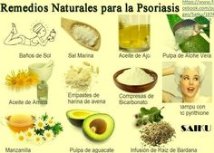 Remedios naturales para la Psoriasis.