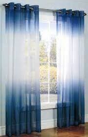 Ombre Indigo Tie & dye curtains by Ohanahomedecor on Etsy Two Tone Curtains, Tie Dye Curtains, Ombre Curtains, Cute Curtains, Sheer Curtains, Panel Curtains, Style At Home, Shower Panels, Curtain Designs