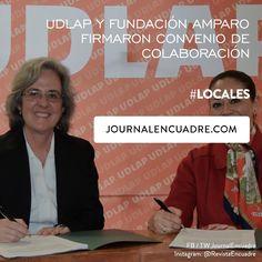 Revista Encuadre » UDLAP y Fundación Amparo firmaron convenio de colaboración