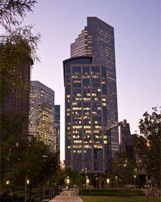 Sparkling view of Downtown Houston
