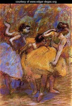 Dancers 7    Edgar Degas