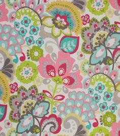 Home Decor Upholstery Fabric - Talula Limelight