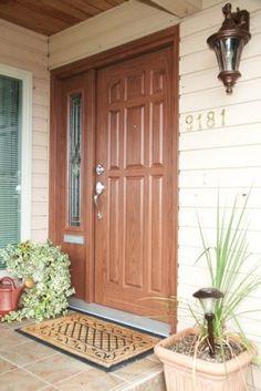 Royston Trimlite Decorative Door Glass French Doors Wood Entry - Shaker front door