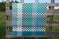 This listing is for the Pretty in Plaid quilt pattern only. It is available for instant download. There are no shipping charges.    This modern